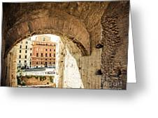 Buildings Of Rome V Greeting Card