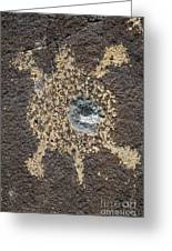 Bullet Hole Greeting Card