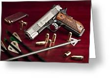 Bullets And Broadheads Greeting Card
