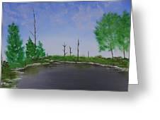 Bullfrog Reservoir Greeting Card