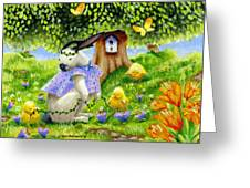 Bunny Friends Greeting Card