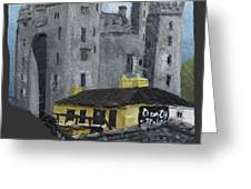 Bunratty Castle And Durty Nellys Greeting Card