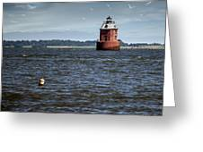 Buoy What A Lighthouse Greeting Card
