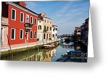 Burano, Venice Greeting Card