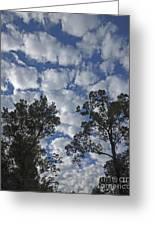 Burden Sky Greeting Card