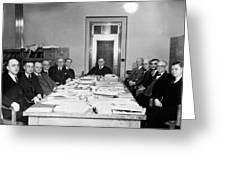 Bureau Of Navigation Meeting Greeting Card