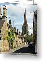 Burford Village Street Greeting Card