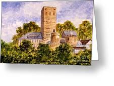 Burg Blankenstein Hattingen Germany Greeting Card
