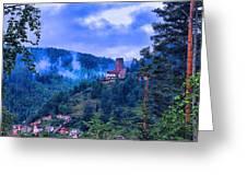 Burgbadliebenzell Greeting Card