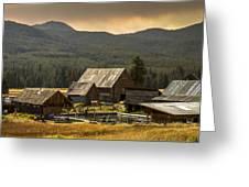 Burgdorf Hot Springs In Idaho Greeting Card
