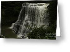 Burgess Falls Tn Greeting Card