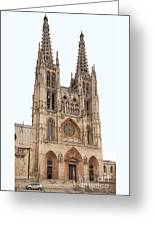 Burgos Cathedral Spain Greeting Card