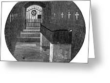 Burial Of Ulysses S Greeting Card