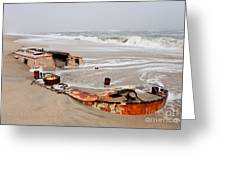 Buried Treasure On The Outer Banks I Greeting Card by Dan Carmichael