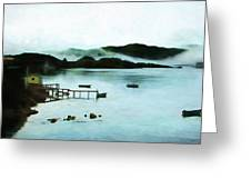 Burin Harbour Greeting Card