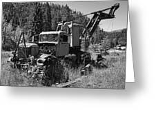Burke Idaho Logging Truck 2 Greeting Card