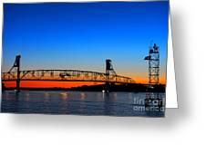 Burlington Bristol Bridge Greeting Card
