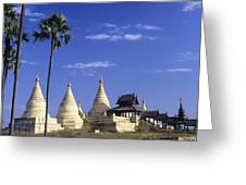 Burma Myanmar, White Minochanthar Greeting Card