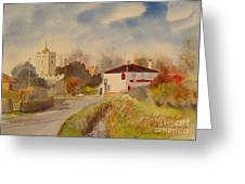 Burmarsh  Kent Uk Greeting Card