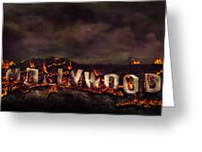 Burn This City Greeting Card by Anthony Citro