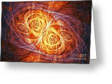 Burning Butterfly Greeting Card
