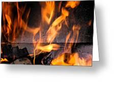 Burning Greeting Card