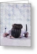 Burnout Greeting Card by Joana Kruse