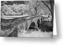 Burnside Bridge 0239 Greeting Card by Guy Whiteley