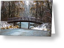 Burnsville Bridge Greeting Card