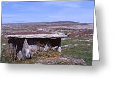 Burren Wedge Tomb Greeting Card