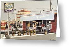 Burr's On Folsom Boulevard Greeting Card