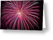 4th Of July Fireworks 24 Greeting Card