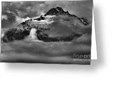 Bursting Thrugh The Clouds Greeting Card