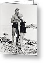Burt Lancaster In From Here To Eternity  Greeting Card