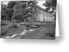 Burwell-morgan Mill Greeting Card