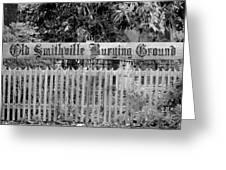 Burying Ground Greeting Card