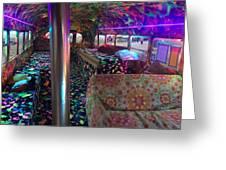 Bus Ride Greeting Card