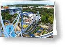 Busch Gardens - 121223 Greeting Card by DC Photographer