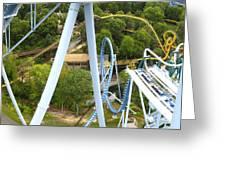 Busch Gardens - 121226 Greeting Card