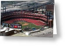 Busch Memorial Stadium Greeting Card