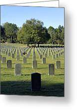 Bushnell National Cemetary Greeting Card
