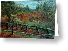 Bussey Hill View Greeting Card