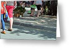 Busy Legs Busy Bodies Greeting Card