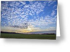 Busy Sky Greeting Card
