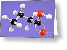 Butanoic Acid Greeting Card