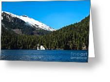 Butedale Falls Greeting Card by Robert Bales