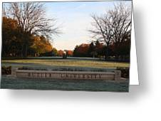Butler University Mall Greeting Card