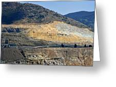 Butte Berkeley Pit Mine Greeting Card