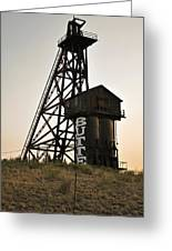 Butte Montana Greeting Card