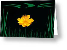 Buttercup Delight Greeting Card